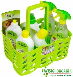 AlmaWin - AlmaWin Organik Temizlik Seti (6 ürün) Sepet Hediyeli