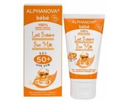 ALPHANOVA - Alphanova Organik Sertifikalı Bebek Güneş Sütü SPF 50 50ml.