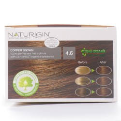 Naturigin Organik Saç Boyası Bakır Kahve 4.6 - Thumbnail