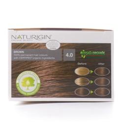 Naturigin Organik Saç Boyası Kahverengi 4.0 - Thumbnail