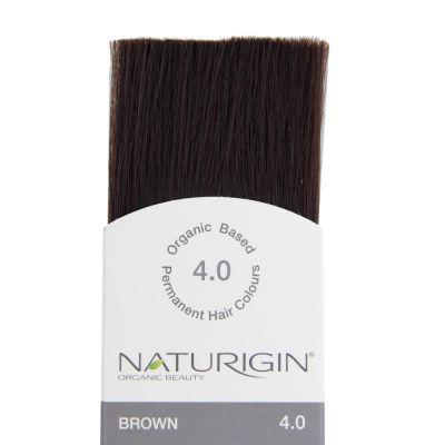 Naturigin Organik Saç Boyası Kahverengi 4.0