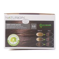Naturigin Organik Saç Boyası Koyu Kahve 3.0 - Thumbnail