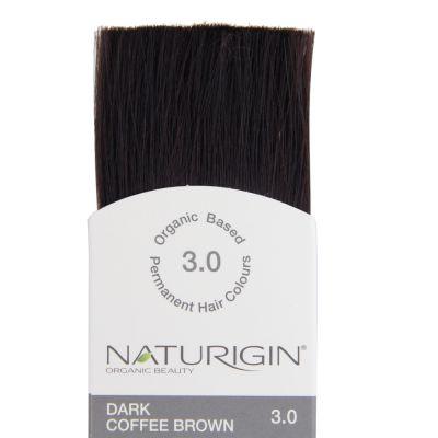 Naturigin Organik Saç Boyası Koyu Kahve 3.0