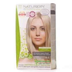 Naturigin - Naturigin Organik Saç Boyası Kül Sarısı 10.2