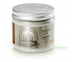 Organique - Organique Kil Maskesi Beyaz Kaolin Hassas ve Kuperozlu Ciltler 200ml