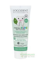 LogoDent - LOGODENT Çocuklar İçin Naneli Diş Macunu